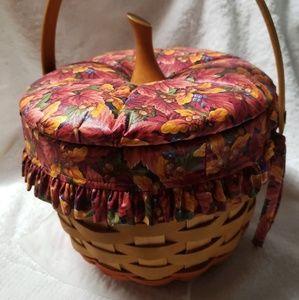 Longaberger Pumpkin Basket
